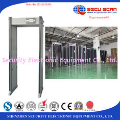 China Wifi Network Connection Door Frame Metal Detector Big Size Lcd Display supplier