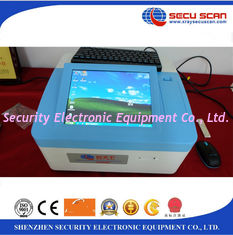 China IMS Technology Table Explosive Detection System 10 Inch TFT Color Touch Screen supplier