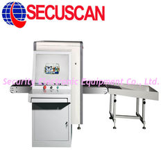 China 34mm Steel High Resolution Color Luggage X ray Machines Working at Airports supplier