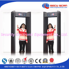 China Handheld Walk Through Metal Detector Remote Controller Shock Proof supplier