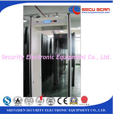 China Ip55 Waterproof Walk Thru Metal Detectors 6 Multi - Zones Security supplier