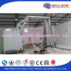China Automatic Baggage Screening Equipment / Mobile Container Scanner Gantry supplier