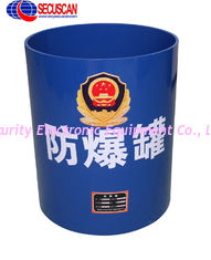 China Carbon Steel Bomb Cans EOD Equipment with High-strength for Airport , Train Station , Sea Port supplier