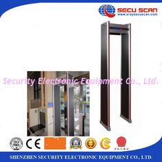 China LCD Display Economic Door Frame Metal Detector To Check Passerger ' s Body supplier