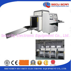 China Double Monitors x-ray baggage inspection system with CE certificate supplier