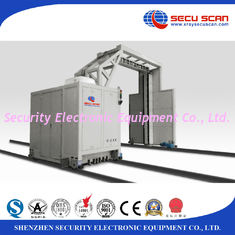 China High Throughput Vehicle Baggage Screening Equipment 6 Mev X Ray Source supplier