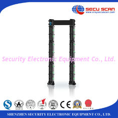 China 8 16 24 Zones Door Frame Metal Detector Gate Movable High Performance supplier