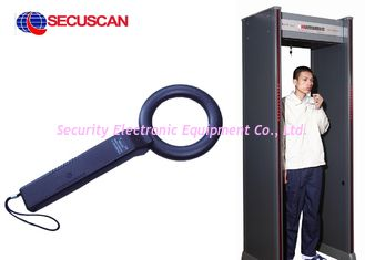 China Black 41 ( L ) X 8.5 ( W )  X 4.5 ( H ) cm Cheap Handheld Metal Detector Body Scanner sales for Correctional Facilities supplier