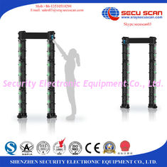 China Security Commercial Metal Detector Scanner Connect Mobile App For Events supplier