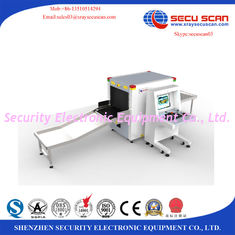 China Noiseless Events Airport X Ray Machines Stainless Steel Baggage Scanner Machine supplier