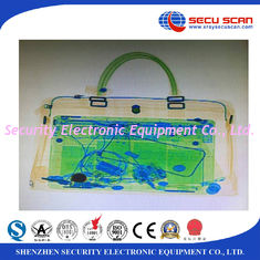 China Secu Scan Big Size Luggage X Ray Machines Penetration 34mm Steel supplier