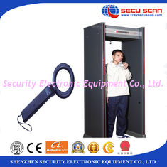 China Indoor 6 Multi Zones Walk Through Scanner Archway Metal Detectors For Security supplier