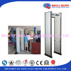 China IP55 Waterproof Walk Through Security Metal Detectors Door 80v To 250v supplier