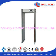 China IP67 33 Multi Zones Door Metal Detector Security Gate With Lcd Display supplier