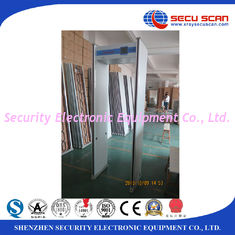 China Indoor 24 Zones Walk Through Scanner Archway Metal Detector Door Frame supplier