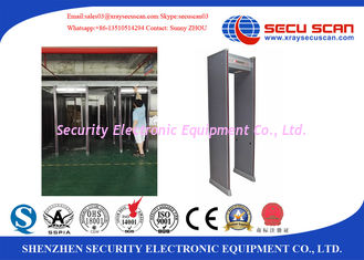 China Effective Security Metal Detector Gate Asset Protection In Industry , Hospitals supplier