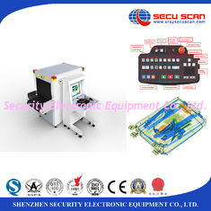 China Bag scanning x ray detection systems / x ray cargo scanner screening machines at airports supplier
