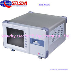 China High Speed Explosives Detector with TFT Color Touch Screen supplier