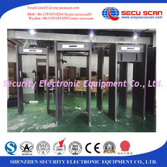 China 1m Wider Inspection Size Door Frame Metal Detector Gate Big Body Person Security Inspection supplier