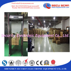 China Security Inspection Gate Walk Through Metal Detector For Office , Shops , Warehouse supplier