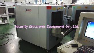 China Duel View Baggage Scanning Machine , Luggage X Ray Machine For Airport / Border supplier