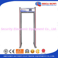 China 24 Zones Walk Through Metal Detector With LED Alarm Light / Full Body Metal Detectors supplier