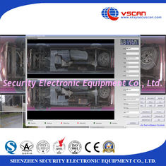 China IP68 Weather Proof Under Vehicle Surveillance System With 22 Inch LCD Screen supplier