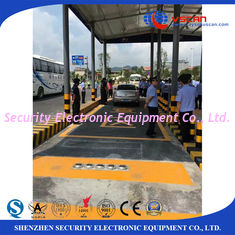 China Stainless steel Under Vehicle Surveillance System inspecting undercarriage of auto in hotel / governments supplier