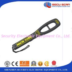 China Anti Fall Hand Held Metal Detector For Airport Security Check , 7V-9V Operate Voltage supplier