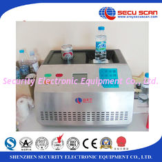 China Benchtop Bottle Liquid Scanner Explosive Detection System AT1000 visual alarm supplier
