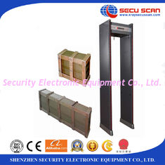 China 12/18 Zones airport security machines , commercial Door Frame Metal Detector walk Through CE and ISO supplier