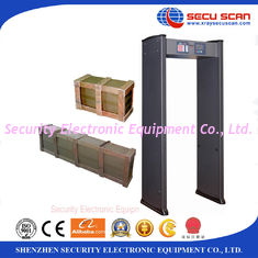 China Human body Walk Through Metal Detector door frame AT IIIA High sensitivity supplier