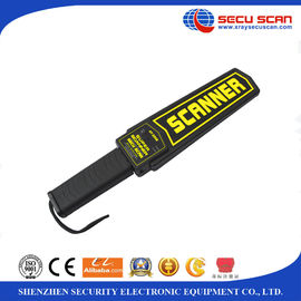 China AT -2008 hand metal detector body scanner , hand held security scanner for Hotel security check supplier