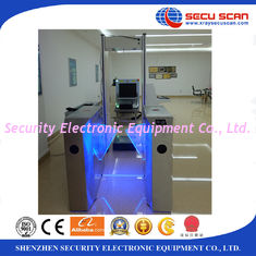 China AT -300B airport 6 zones body scanner Metal Detector Gate with LED light alarm supplier
