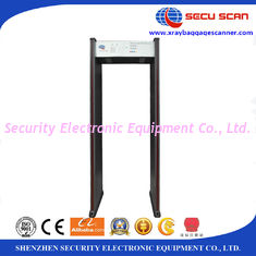 China 10W 18 Zones Portable Walk Through Metal Detectors 12 Months Warranty ISO supplier