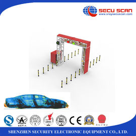 China Small X Ray Scanning Machine Vehicle Scanner For Car / Medium Vans / Truck Inspection supplier