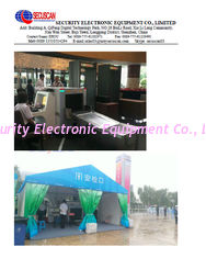 China Low Noise Television X Ray Baggage Scanner System For Police , Customs Office supplier