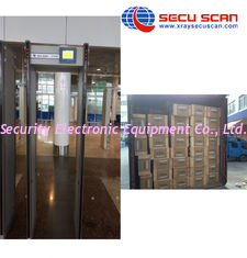 China Airport / Embassy Walk Through Safety Gate / Multi Zone Metal Detector Door supplier