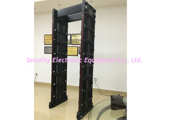 China Portable Multi Zone Door Frame Metal Detector Walk Through With Wifi Network supplier