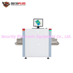 China High Precision X Ray Baggage Scanner Medium Tunnel Size For Building Parcel Scanning supplier