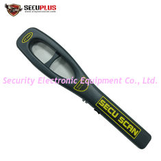 China Anti - Fall Hand Held Metal Detector AT2009 For Airport Security Check Scanner supplier