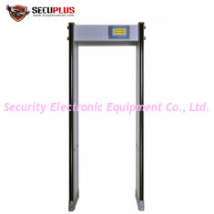 China Adjustable Sensitivity Door Frame Metal Detector 45 Zones 760mm Inner Size supplier