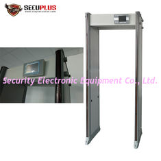 China 45 Zones Optional Walk Through Metal Detector SPW300S 760mm Inner Size supplier