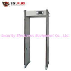 China 74kg Gross Weight Walk Through Metal Detector 760mm Inner Size SPW300S supplier
