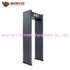 China High Sensitivity Walk Through Scanner Indoor Two LED Light Bars For Security Check supplier