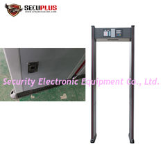 China 18 Zones Walk Through Metal Detector SPW-IIIC For Hospital /  Bank / Hotel supplier