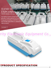 China High Identify Speed Explosives Detector For Train Station Security Check supplier