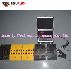 China Mobile Tire Killer SP650 Automatic Under Vehicle Inspection System For Gate Security supplier