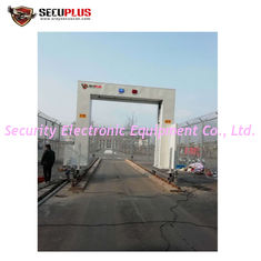China Occupied Car Inspection Solution X Ray Container Scanner Vehicle Inspection Screening System supplier