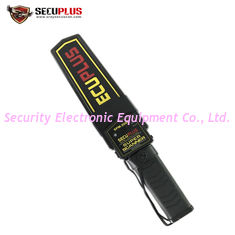 Portable Handheld Metal Detector Wand 9v Battery For Transportation Terminals
